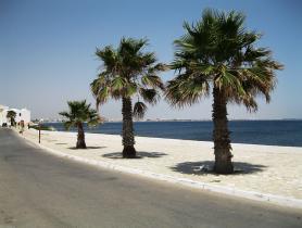 Pobřeží města Mahdia, Tunisko