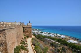 Kelibia - část města a pevnost