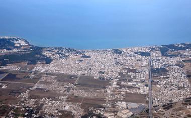 Tuniské letovisko La Marsa