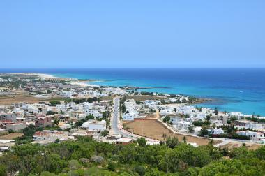 Tunisko - pobřežní město Kelibia