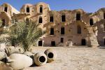 Berberské městečko Tataouine