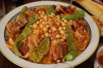 Tuniské národní jídlo kuskus