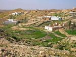 Tuniské pouštní městečko Matmata